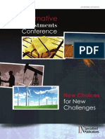 2011 InvestmentNews Alternative Investments Conference Supplement