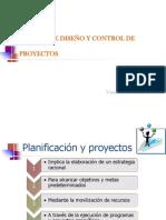 DISEÑO Y CONTROL DE PROYECTOS