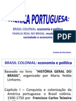AMÉRICA PORTUGUESA - textos