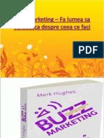 Buzz Marketing – Fa lumea sa vorbeasca despre ceea ce faci -recenzie