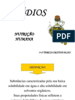 AULA LIPÍDEOS
