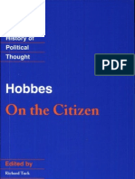 Hobbes. on the Citizen
