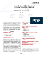 ACI 307_1998 Chimney Design Commentary 307R_98