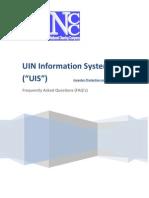 29-07-2011 - FAQ of UIN Information System
