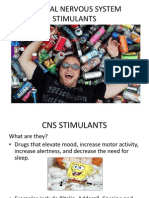CNS Stimulants Overview Amanda Meyers