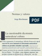 NORMAS Y VALORES