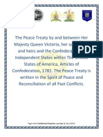 The Peace Treaty 10 28 2011