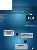 Presentasi Marketing Channels 12 Oktober 2011 PH Versi 2007