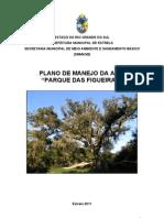 Plano de Manejo Da ARIE Parque Das Figueiras