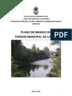 Plano de Manejo Do Parque Municipal Da Lagoa