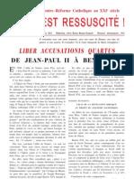 De Jean-Paul II à Benoît XVI_Liber accusationis quartus
