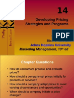 14 Pricing Kotler MM 13e Chapter 14-2009