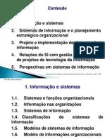 Sistemas Informacoes Organizacionais - Projetos - Rezende