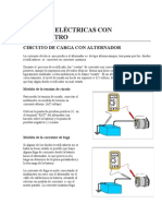MEDIDAS ELÉCTRICAS CON MULTÍMETRO
