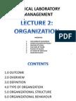Clinical Laboratory Management - Organization
