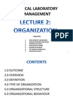 Clinical Laboratory Management - Organization