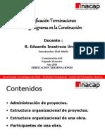 Organizacion en La Construccion