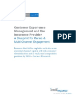IntelliResponse White Paper - Customer Experience and Insurance Providers