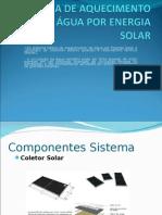 Sistema Básico de Aquecimento de água por Energia Solar