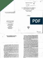 Vidal-Naquet, Pierre - La democracia griega, una nueva visión - El dilema de los orígenes