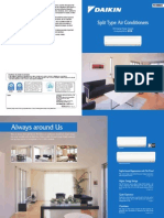 Catalogue máy lạnh treo tường Daikin FTKD50-71