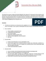 CVPA CV Writing Tips