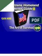 Citizen's Homeland Defense Guide II - The Art of Survival