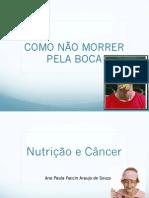 Minicurso SEPEX - Nutrição e Câncer