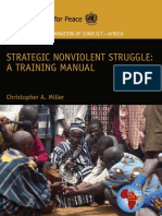 35220304 Strategic Nonviolent Struggle Training Manual