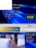 Server Security Technologies