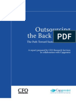 Full Study Results Outsourcing the Back Office the Path Toward Sustainable Benefit