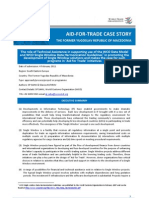 WTO Air for Trade - Case Study