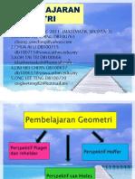 Pembelajaran Geometri Show Ppoint