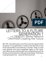 Letters to a Future Generation 1