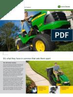 John Deere Lawn Tractor LA100