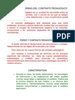 GELE - LAS NUEVAS FORMAS DEL CONTRATO PEDAGÓGICO