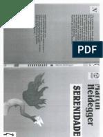 2011-08-19 - Livro Serenidade (Martin Heidegger