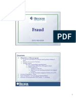 Fraud Risks