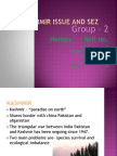 Kashmir Issue and Sez