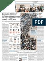 Ressa per iPhone e tv la febbre del maxisconto manda in tilt Roma