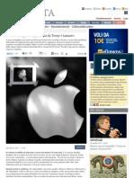 In fila alla Apple è figo, in fila da Trony è tamarro