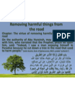 Removing Harmful Things From the Road