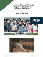 Islamization of Burma Through ian Bengalis as Rohingya Refugees