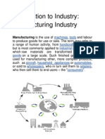 Introduction to Industry