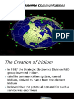 Iridium Satellite Communications 1