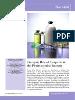 Article Excipients