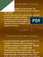 7 Common Accident Causes