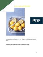 Cum confiezi coaja de lămâie - Copy