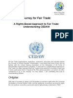 A Rights-Based Approach to Fair Trade - Understanding CEDAW