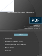 Location Based Advertisements and Services